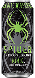 Spider Energy Drink Mimic