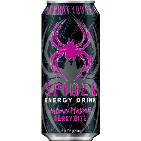 Spider Energy Drink Widowmaker